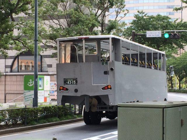 横浜市西区ドットコム水陸両用バス